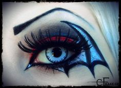 My halloween make-up idea by CatherineWarner on deviantART