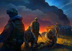 Ukrainian border forces , Second Crimean War