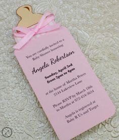 Ideas de tarjetas de invitación para Baby Shower. – moniclic