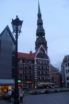 Riga by blogefl, via Flickr