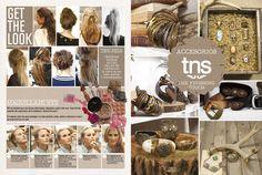Makeup - Hair styles - Accesorios TNS - Tennis Magazine Diciembre 2012 www.tennis.com.co