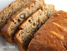 Weight Watchers Recipes: Low Fat Banana Nut Bread