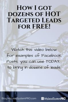 How I got dozens of HOT Targeted Free Leads 7b0deb31f7d