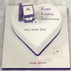 write name on pictures with eNameWishes by stylizing their names and captions by generating text on Romantic Anniversary Cake with Name Edit with ease. Anniversary Cake With Name, Romantic Anniversary, Cake Name, Happy Birthday Cakes, Romantic Birthday, Birthday Wishes Cake, Birthday Cakes