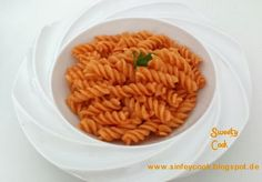 Sweety-Cook: Nudeln mit Tomatensoße