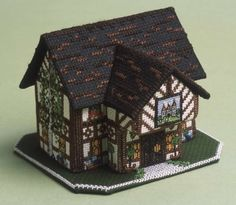 The Castle Inn 3D Cross Stitch Kit £20.50