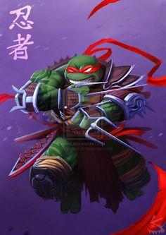 TMNT Raphael by razen-sketch.deviantart.com on @deviantART