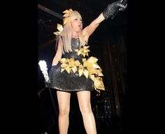 Lady Gaga (2009 New Year)  New Year's Eve Ball at Webster Hall, 31 December 2008, New York City.