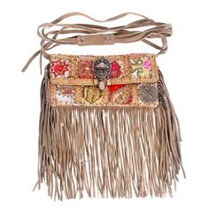United Bag Leather Fringe, $69, now featured on Fab.