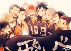 im not usually one for sports anime (uncoordinated nerd here), but haikyuu is a good one.