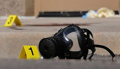 Aurora Colorado theater shooting - The gas mask worn by the shooter