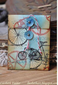 Liesbeth's Arts & Crafts: Cadeau-envelopje...