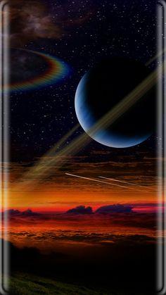Hafi Pop Art Wallpaper, Planets Wallpaper, Galaxy Wallpaper, Madara Wallpaper, Edge Of The Universe, Hd Cool Wallpapers, Space Artwork, Fire Image, Space Planets