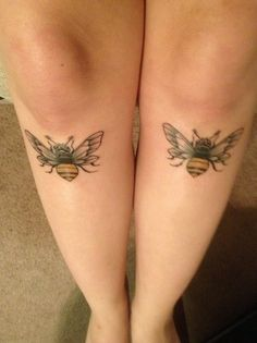 the bees knees! done by the lovely Naomi at Ichiban Tattoo in Lawrence, KS.