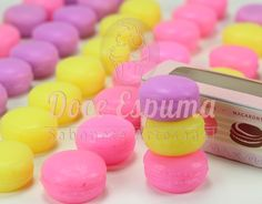 Sabonete Macarons Médio