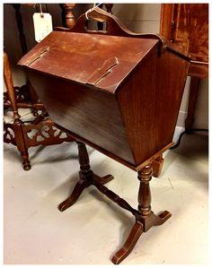 Sewing Box, $95.  Gaslamp Antiques, booth B103J.