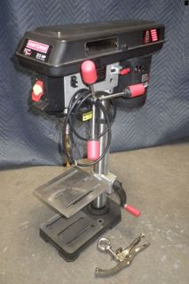 Craftsman 10 inch Drill Press with Laser Trac For more information visit www.CalAuctions.com