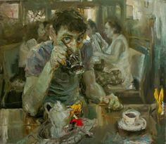 Painting by Kostya Lupanov