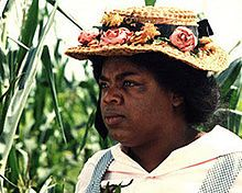 Oprah as Sofia in The Color Purple.