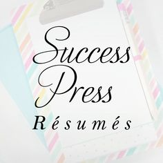 ✦ DISCOUNT PACKAGE ✦  ☆ THIS LISTING IS FOR PROFESSIONAL RESUME WRITING + LINKEDIN PROFILE ☆ Professional Resume Writing and Career Advice from a Certified Staffing Professional. Success Press offers a variety of services to help assist you with your job search - specializing in resume
