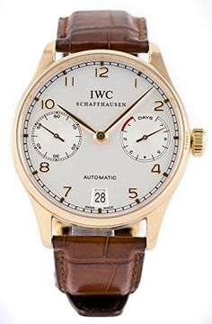 IWC Schaffhausen Portuguese Automatic 18k Rose Gold Mens Strap Watch IW500113 https://www.carrywatches.com/product/iwc-schaffhausen-portuguese-automatic-18k-rose-gold-mens-strap-watch-iw500113/  #automaticwatch #iwc-#iwcshaffhausen-#schaffhausen #men #men