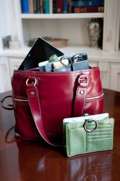 Use for business during the day in your briefcase, switch to a purse for a night on the town. Pouchee: the ultimate purse organizer!
