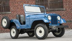 Fully-restored 1955 Willys #Jeep CJ-5 barn find used in the movie Backroad Gold.