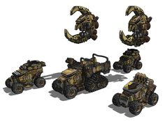 Ork vehicle designs from Leman Russ sized tanks in the style of a Baneblade from http://www.miniaturescenery.com/CategoryPage.asp?CODE=CAT_VH http://www.dakkadakka.com/dakkaforum/posts/blog/600/537478.page