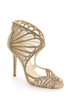 Jimmy Choo 'Kole' Sandal €1,222 Spring 2014 #JimmyChoo #Shoes #Heels