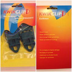 De KwikClips een ideale gadget. Wanneer er bijv een ring uit uw dekkleed gescheurd is, kunt u middels deze KwikClip snel en gemakkelijk een nieuw oog creëren binnen een mum van tijd. Treksterkte is 40kg. Binnenkort is deze KwikClip bij ons te koop via de website http://watersport4all.nl Facebook : watersport4all.nl