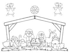 Nativity-Coloring-Pages-Picture-19.jpg (600×464)