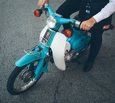 Vintage Honda c70