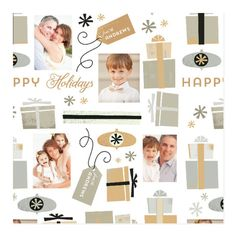 'Gift Wrap Personalized Wrapping Paper', on Minted.com