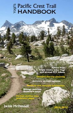 Pacific Crest Trail Resources | Yogi's Books