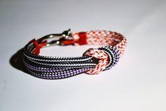 Nautical Jewelry Bracelet Sailing Hardware Rope by cathydavey