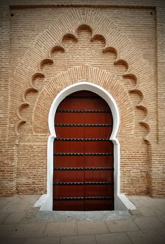 Door in Marrakesh