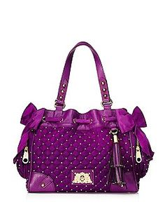 Juicy Couture | Daydreamer Bags - Velour Daydreamer Bags
