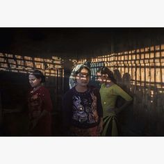 One of the most urgent and troubling issues in Myanmar is the treatment of the Rohingya people a muslim ethnic group originating from Bangladesh who have lived in Myanmar for over 300 years. I did some work in the Internal Displaced Camps where over 100000 Rohingya are living in dyre conditions. The story of these three sisters touched me deeply.  Khaironisa (center) and her two sisters Surunisa (left) and Guktas (right) stand in their shack in Dar Paing IDP Camp. When violence broke out in…