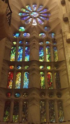 Vitraux de la Sagrada Familia, Barcelone