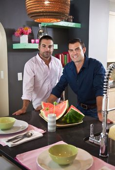 Kitchen Cousins Anthony Carrino & John Colaneri.......can remodel my kitchen anytime they'd like ;)