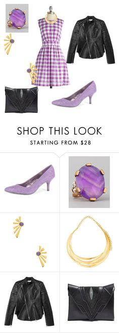 """""""Untitled #10"""" by emilyapye ❤ liked on Polyvore featuring Emily and Fin, Dorothy Perkins, Stephen Dweck, Katie Diamond, Kenneth Jay Lane, 3.1 Phillip Lim and Elena Ghisellini"""