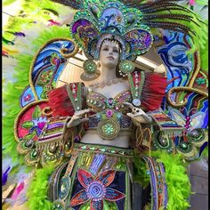 Panamanian Carnaval Costume Colorful vibrant color Carnival costume Other Caribbean Carnival, Carnival Festival, Vibrant Colors, Colorful, Carnival Costumes, Festivals, Captain Hat, Comedy, Fashion Design