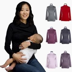 Turtleneck Maternity clothes Maternity Tops&shirt Nursing clothes Nursing Tops Breastfeeding Tops for Pregnant Women $27.89   => Save up to 60% and Free Shipping => Order Now! #fashion #woman #shop #diy  http://www.mybreastfeeding.net/product/mamalove-turtleneck-maternity-clothes-maternity-topsshirt-nursing-clothes-nursing-tops-breastfeeding-tops-for-pregnant-women/