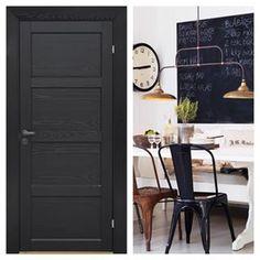 Svart dør Tall Cabinet Storage, Furniture, Home Decor, Interior Design, Home Interior Design, Arredamento, Home Decoration, Decoration Home, Interior Decorating
