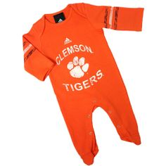 Maryland Terrapins Cheerleader Costume. See More. Clemson Tigers Infant  Sleeper #Clemson #ClemsonTigers #Infant #Baby #Toddler #Kids