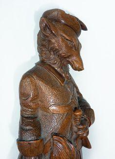 Rare Blackforest Fox Whiphook - Carrying Dagger