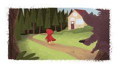 Little Red Riding Hood by beavotron.deviantart.com on @deviantART