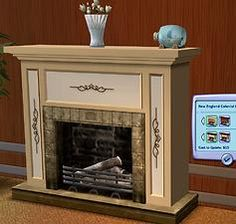 """Mod The Sims - Early American """"Colonial Style"""" Fireplaces *new mesh* UPDATED 7 Oct 2011"""