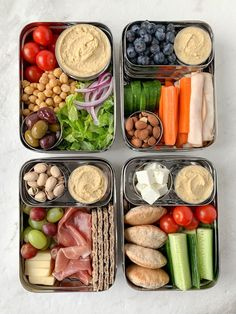 Easy Healthy Meal Prep, Healthy Lunches For Work, Work Meals, Prepped Lunches, Easy Healthy Recipes, Healthy Snacks, Healthy Lunch Ideas, Snacks For Work, Good Lunch Ideas