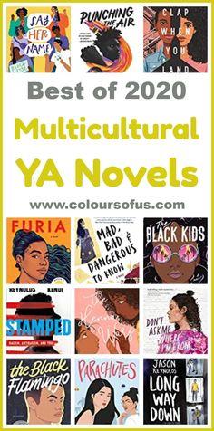 Best Multicultural Young Adult Novels 2020 Best Books List, Good Books, Book Lists, Multicultural Classroom, Ya Novels, Happy Reading, Black Kids, Book Publishing, Childrens Books